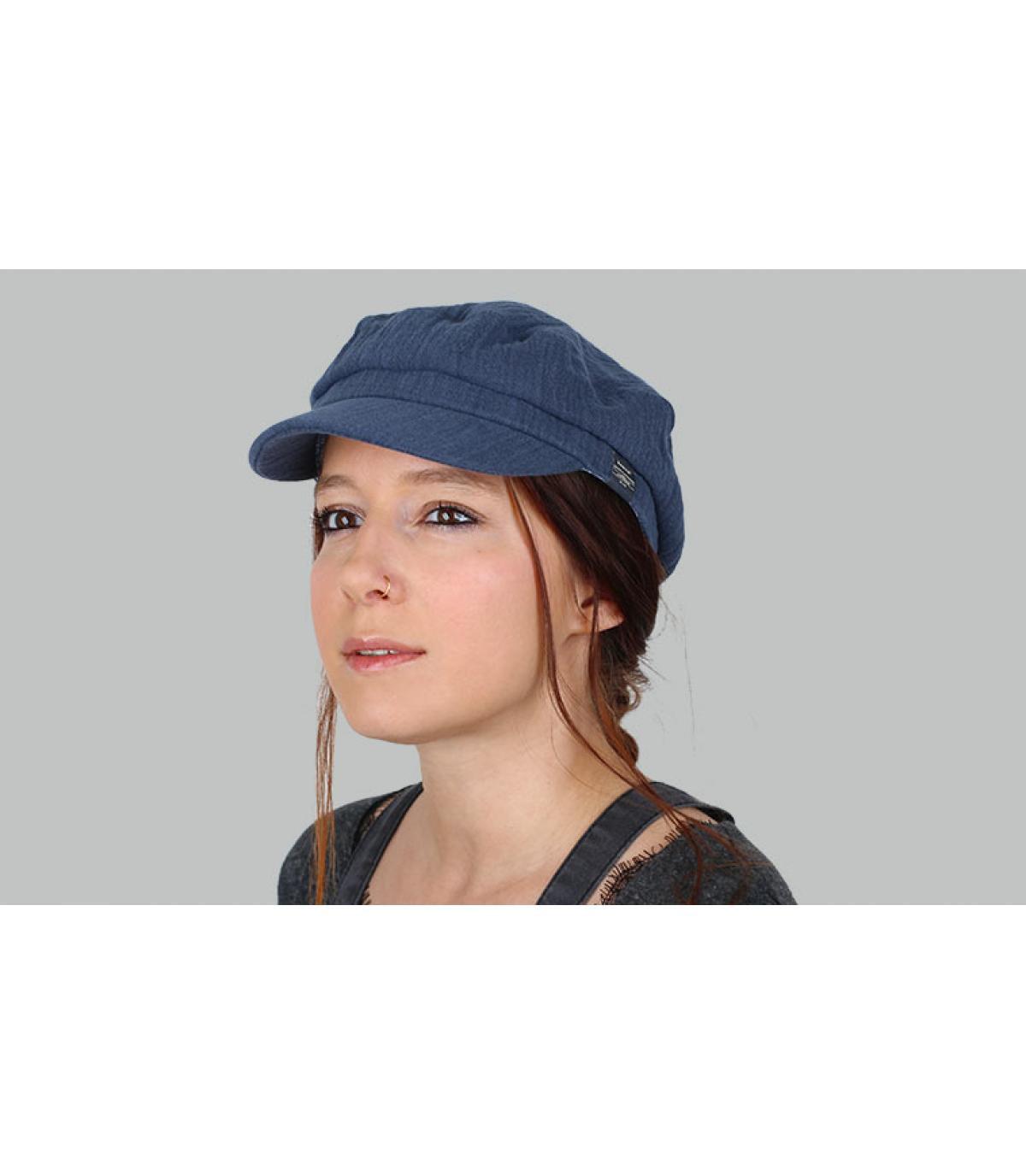 gorra marinera azul marino