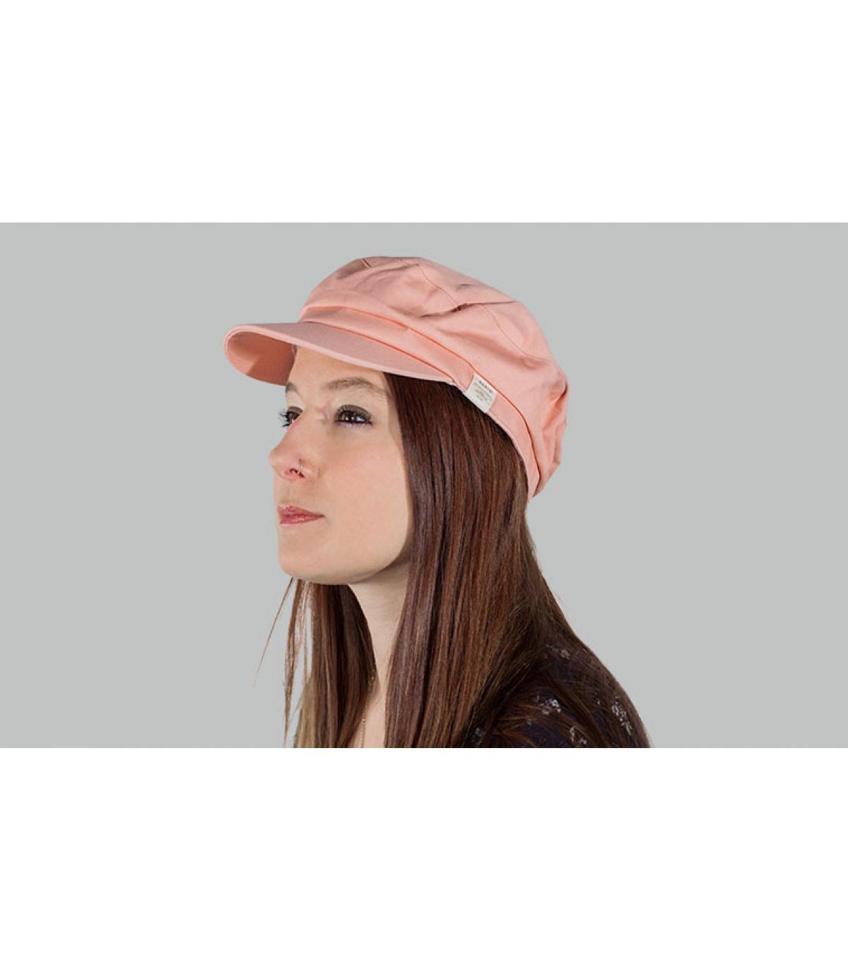 gorra marinera rosa