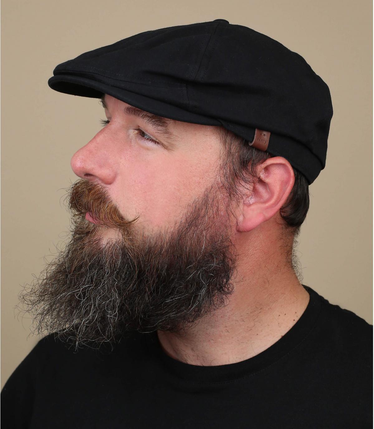 gorra repartidor negro