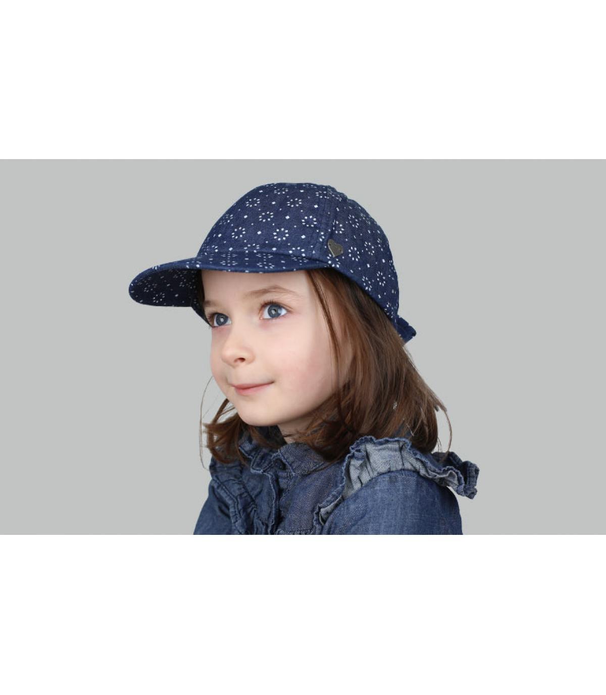 gorra niño azul lazo