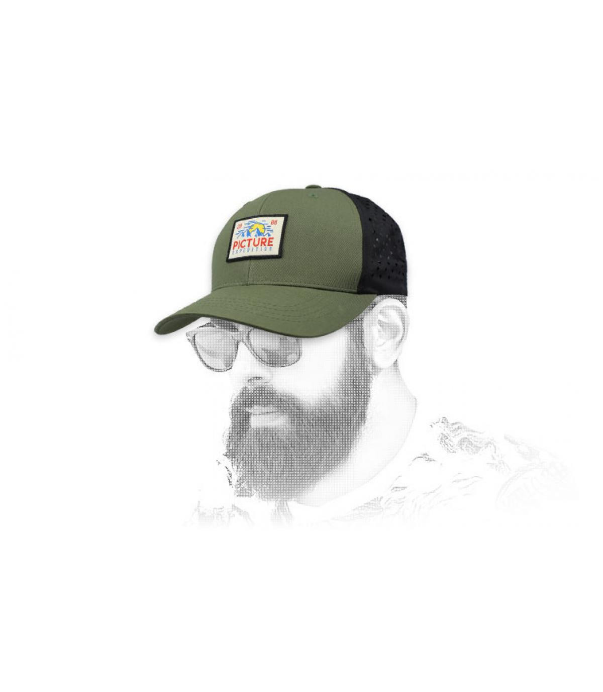 gorra Picture verde