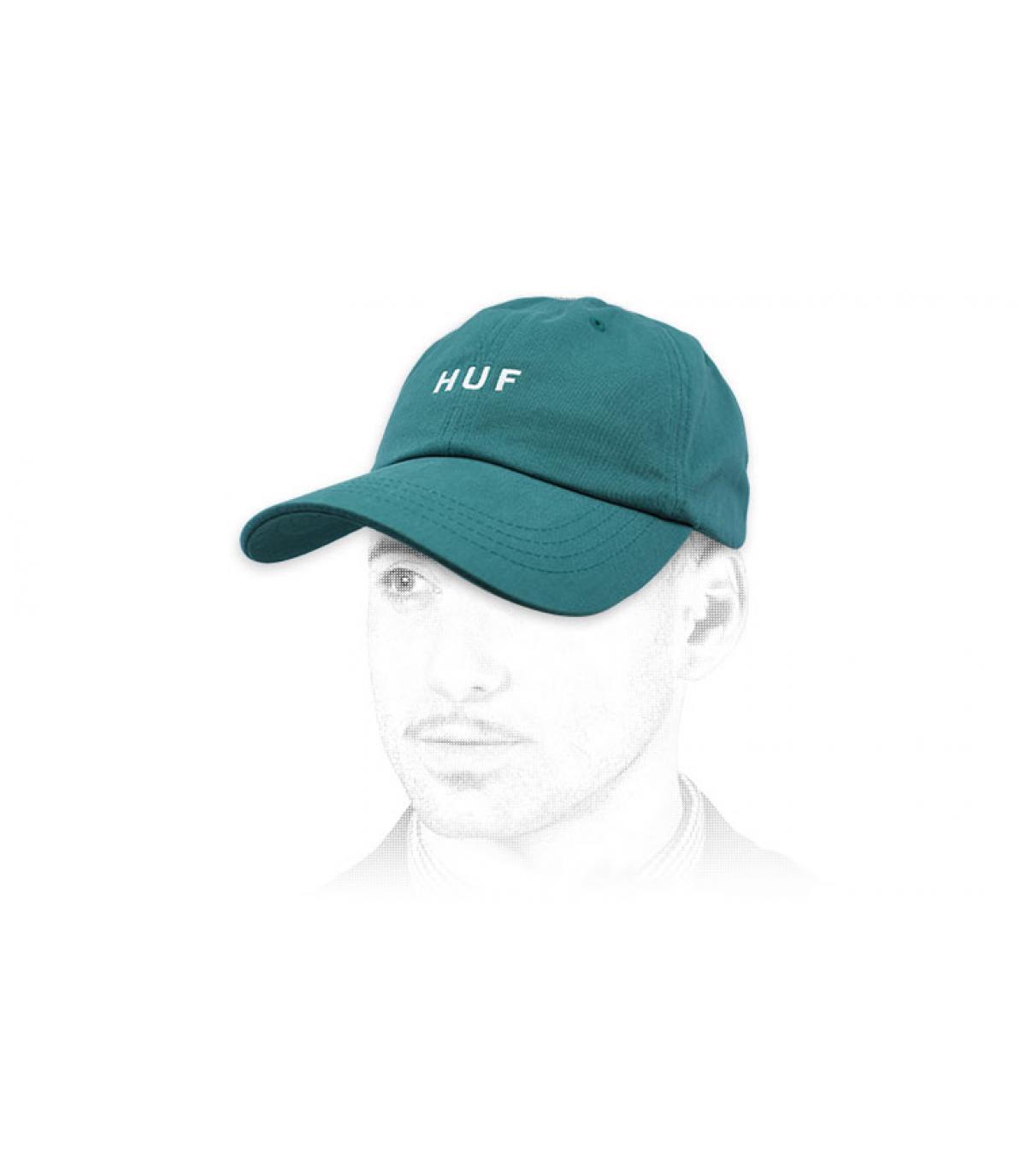 gorra Huf azul