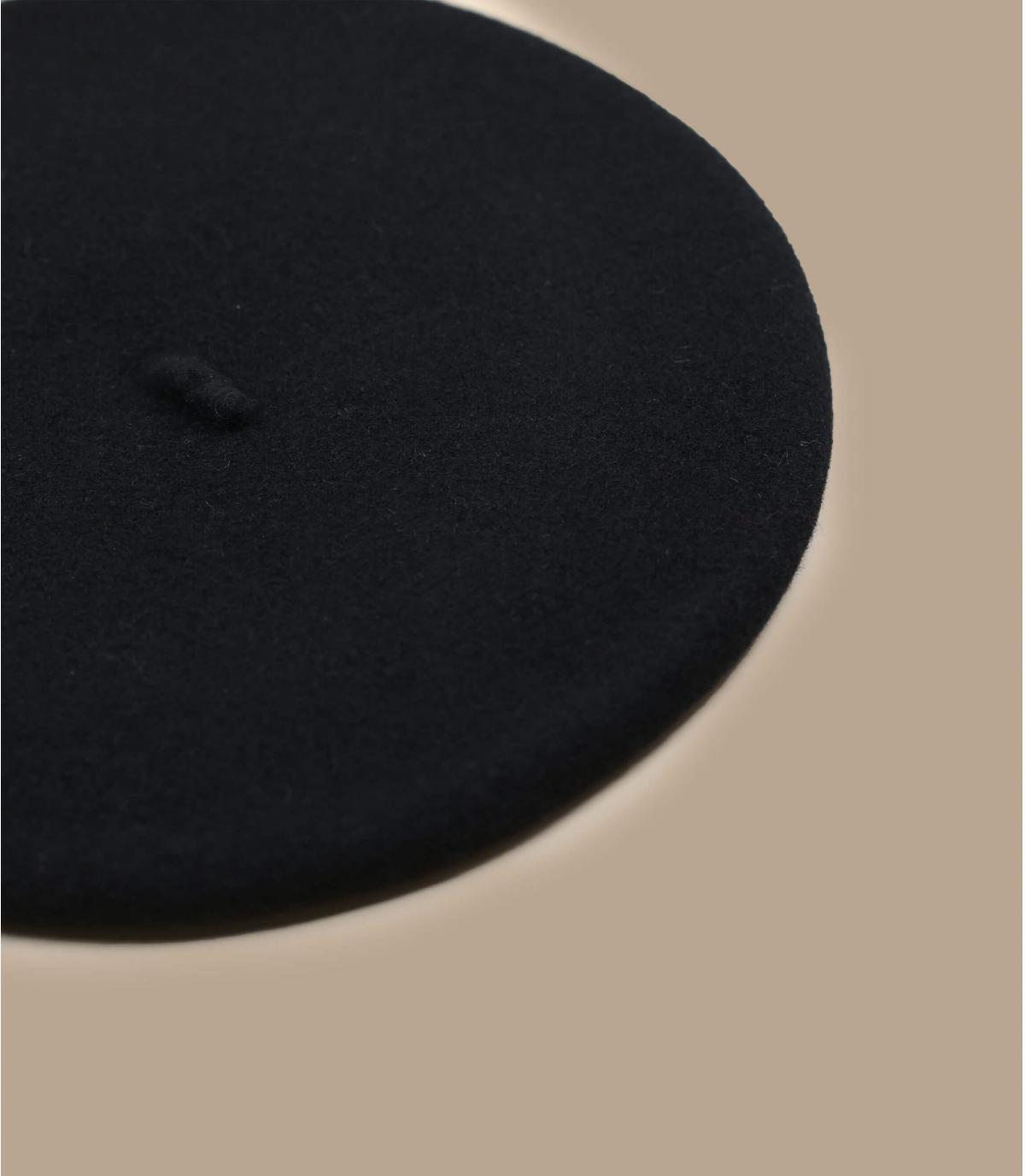 Detalles Black french beret imagen 2