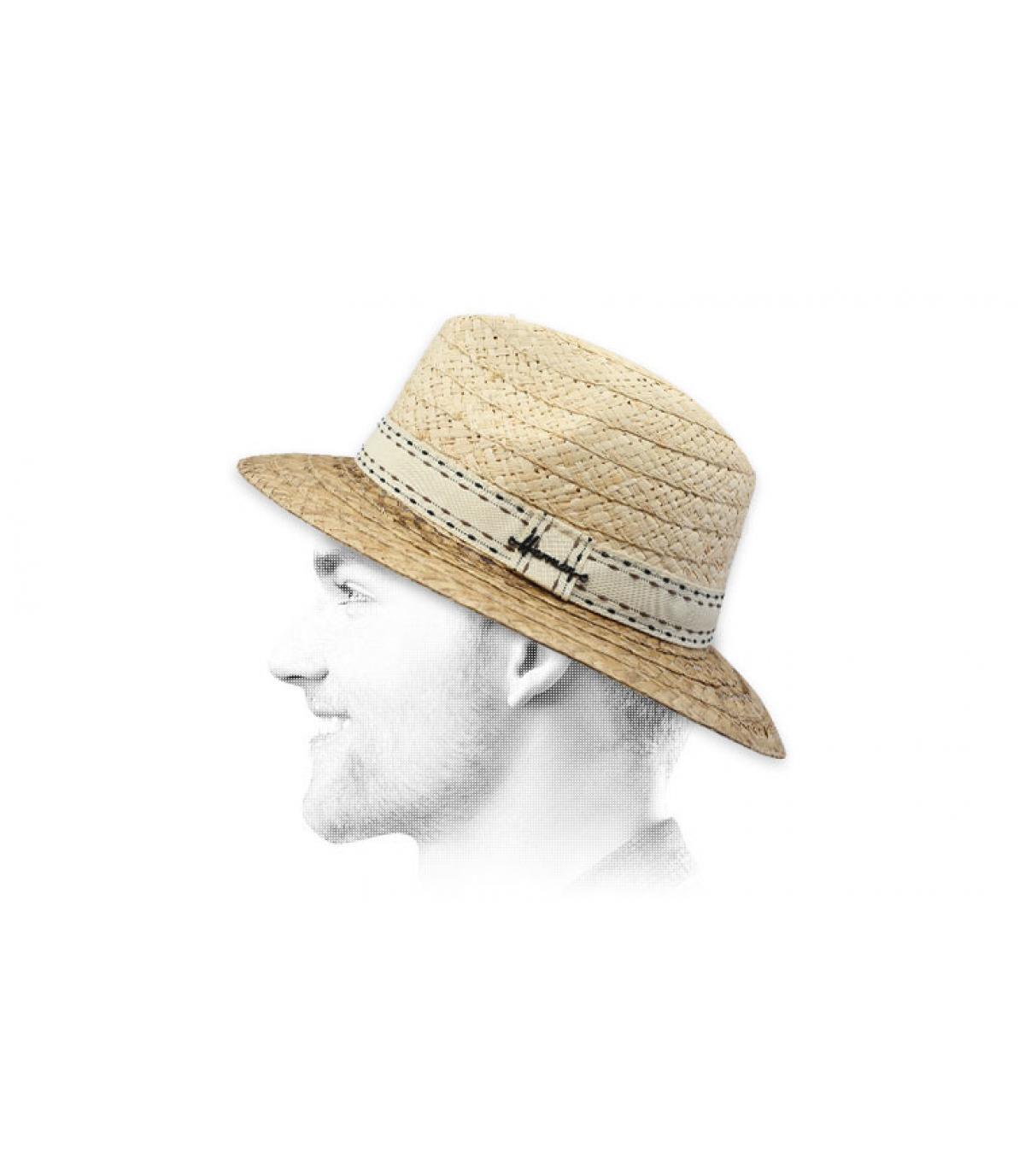 sombrero paja Herman