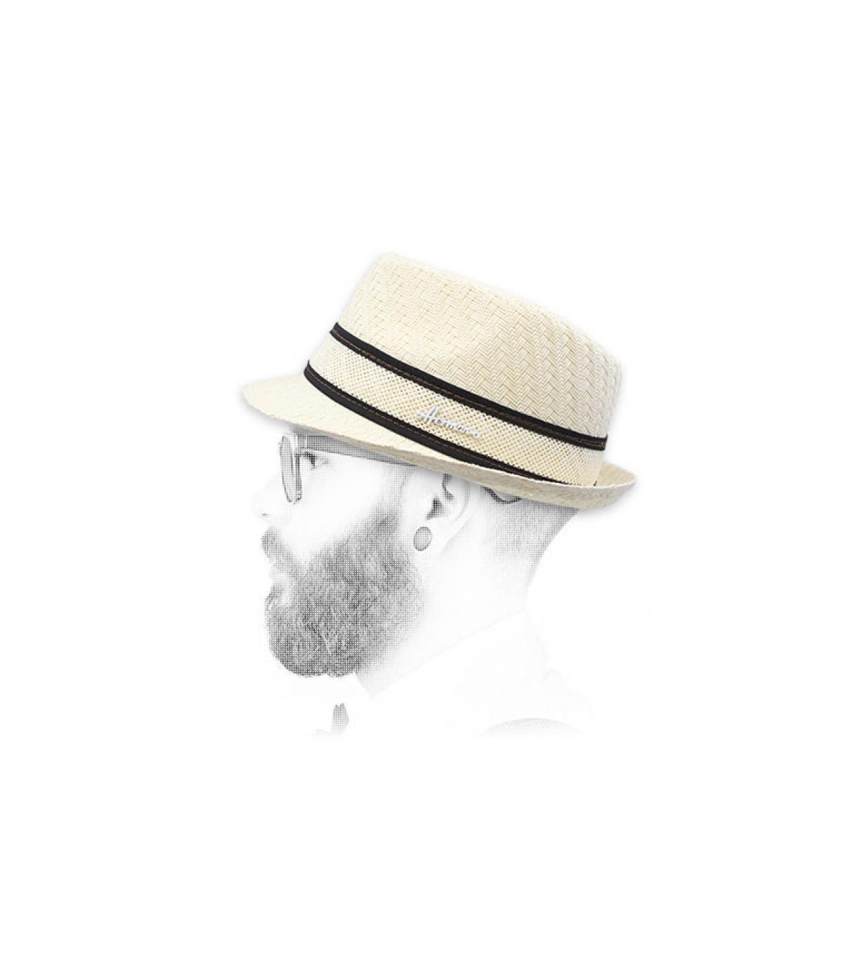 trilby blanco paja
