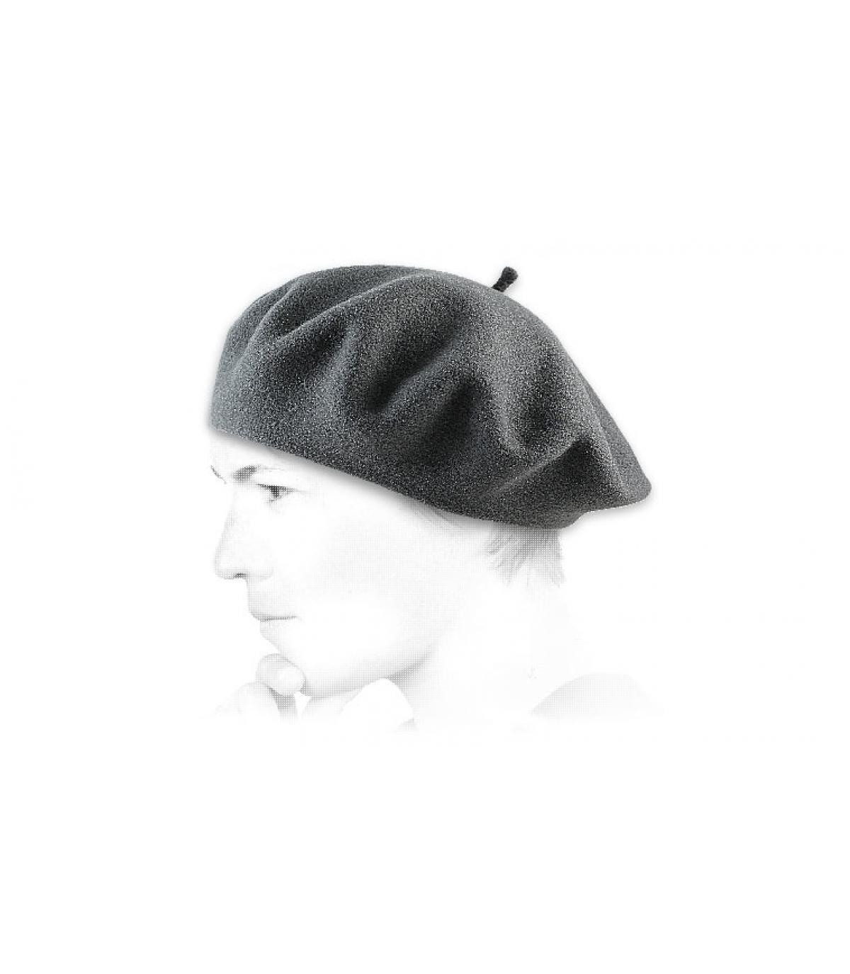 Detalles Grey french beret wm imagen 2