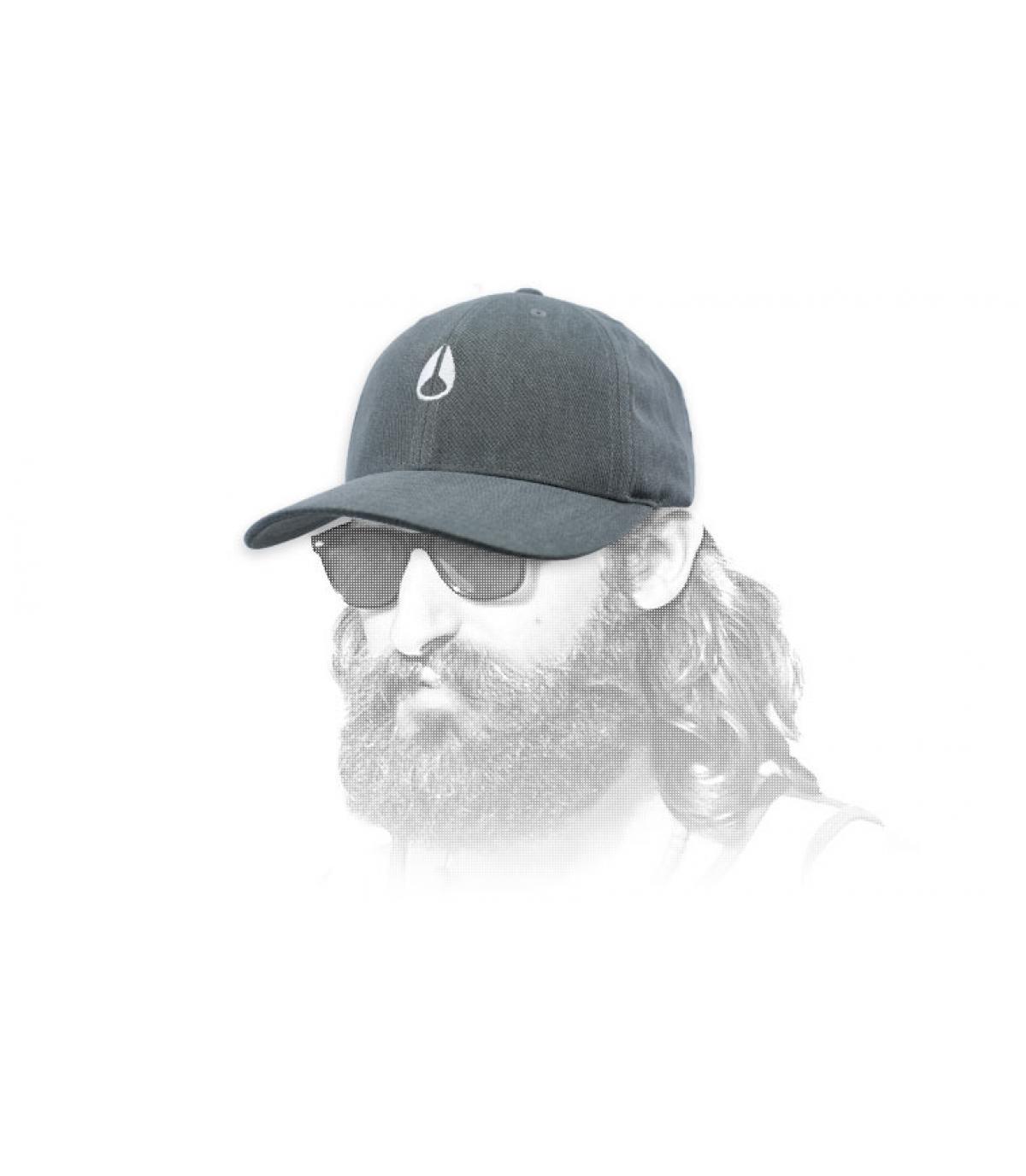 gorra negro Nixon
