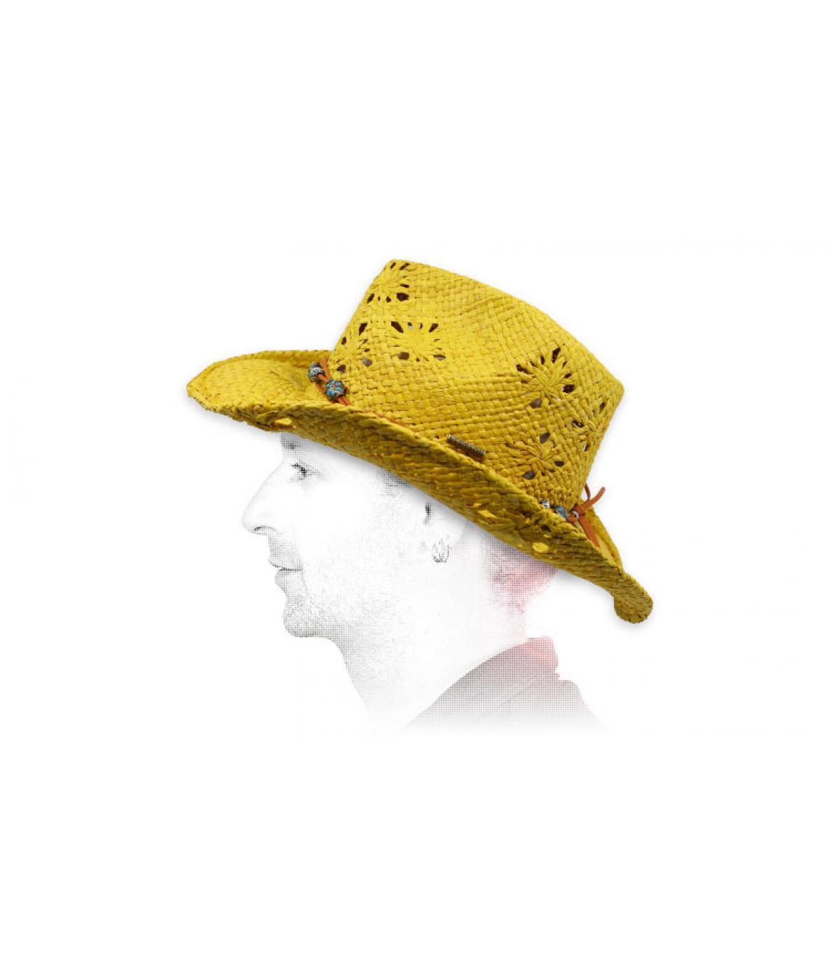 sombrero vaquero paja Stetson