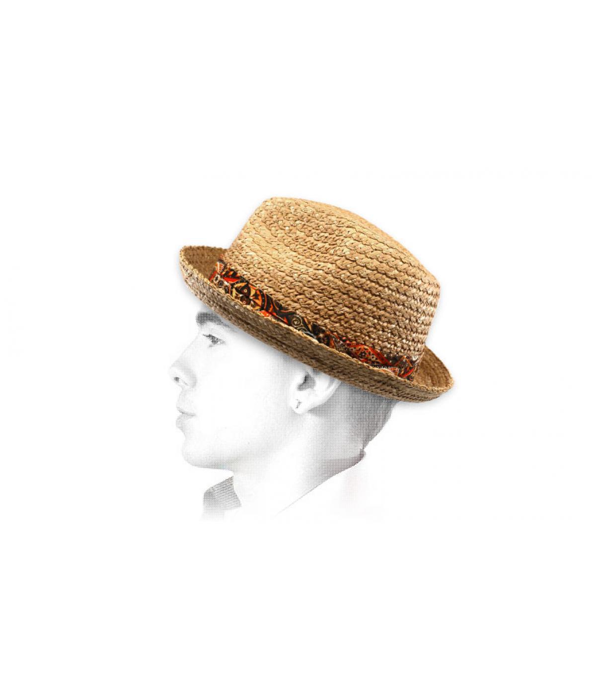 sombrero paja cinta Stetson