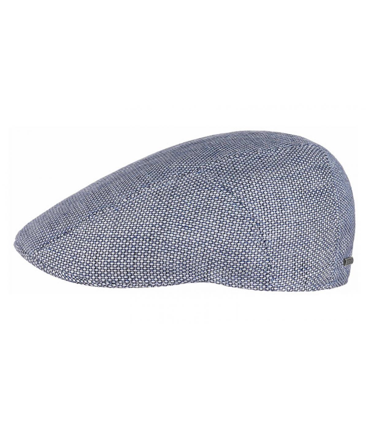 gorra lino azul Stetson