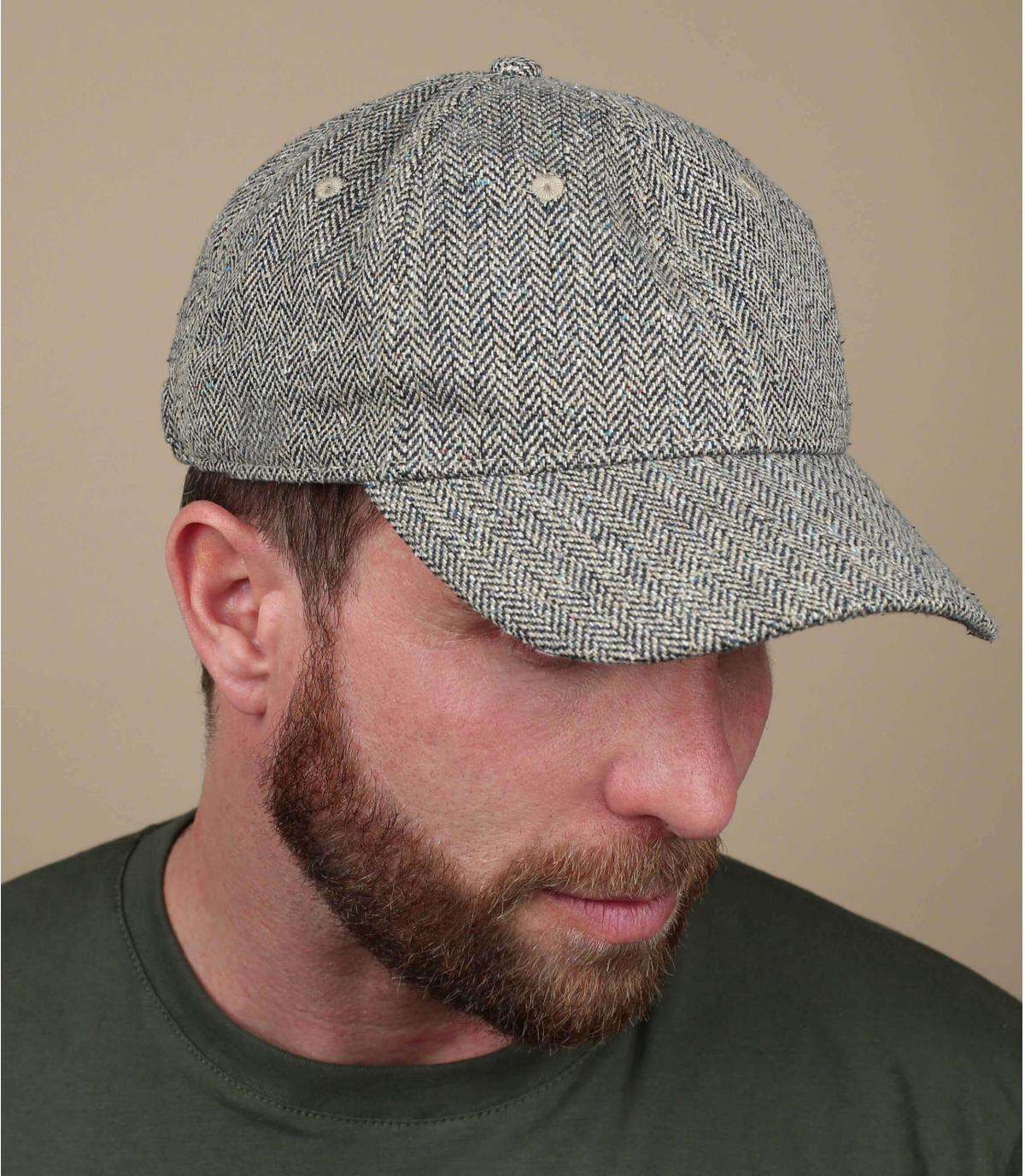 gorra seda negro Stetson