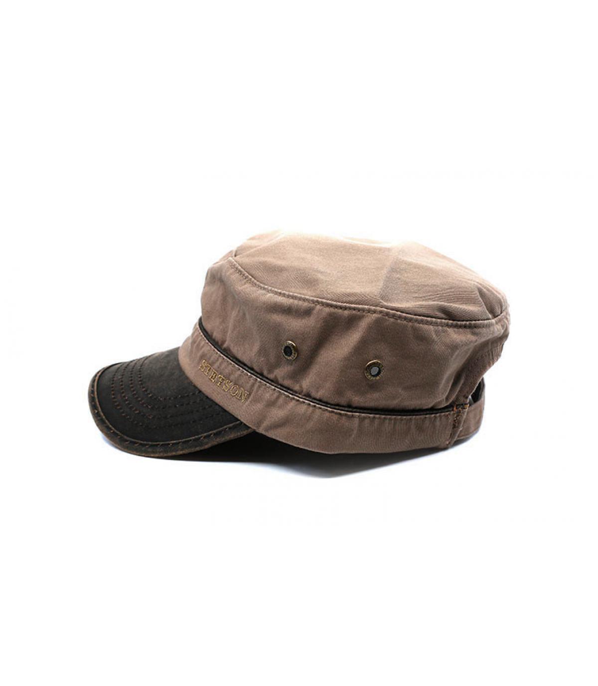 Detalles Army Cap Cotton brown imagen 4