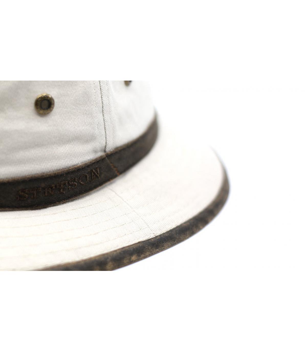 Detalles Bucket Cotton beige imagen 3