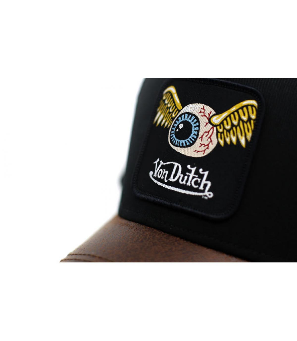 Detalles Trucker Eye Patch black brown imagen 3