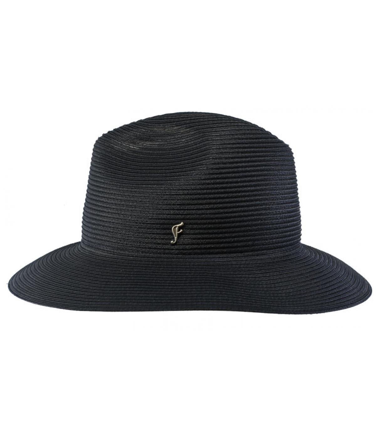 sombrero azul marino rosa