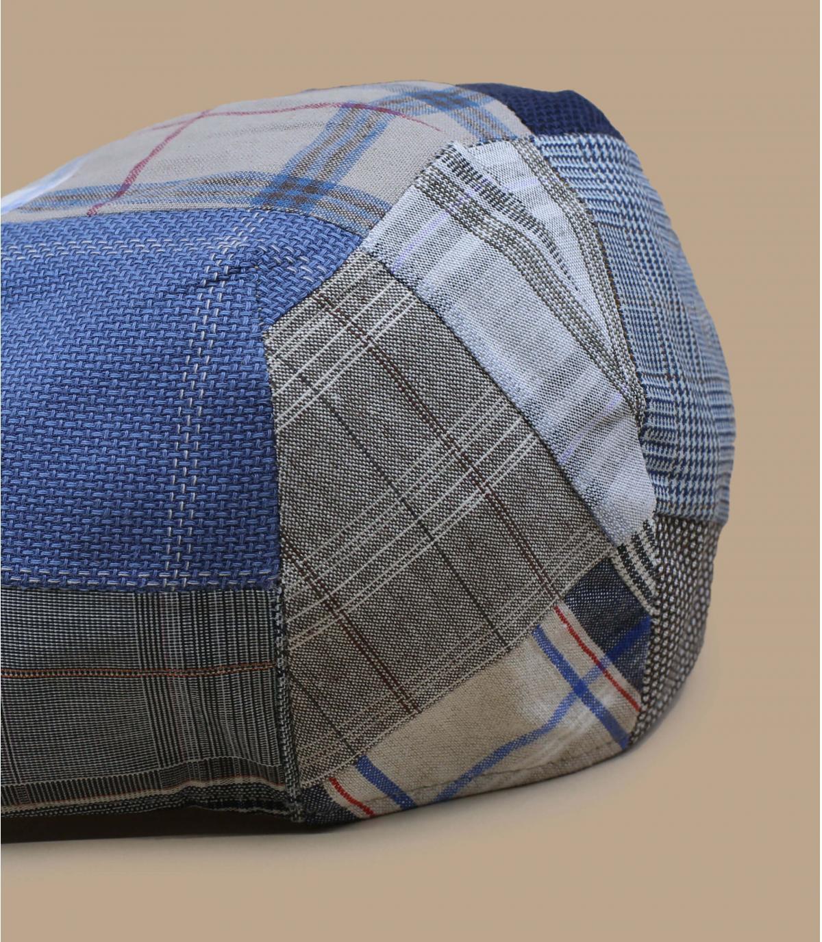 gorra patchwork beis