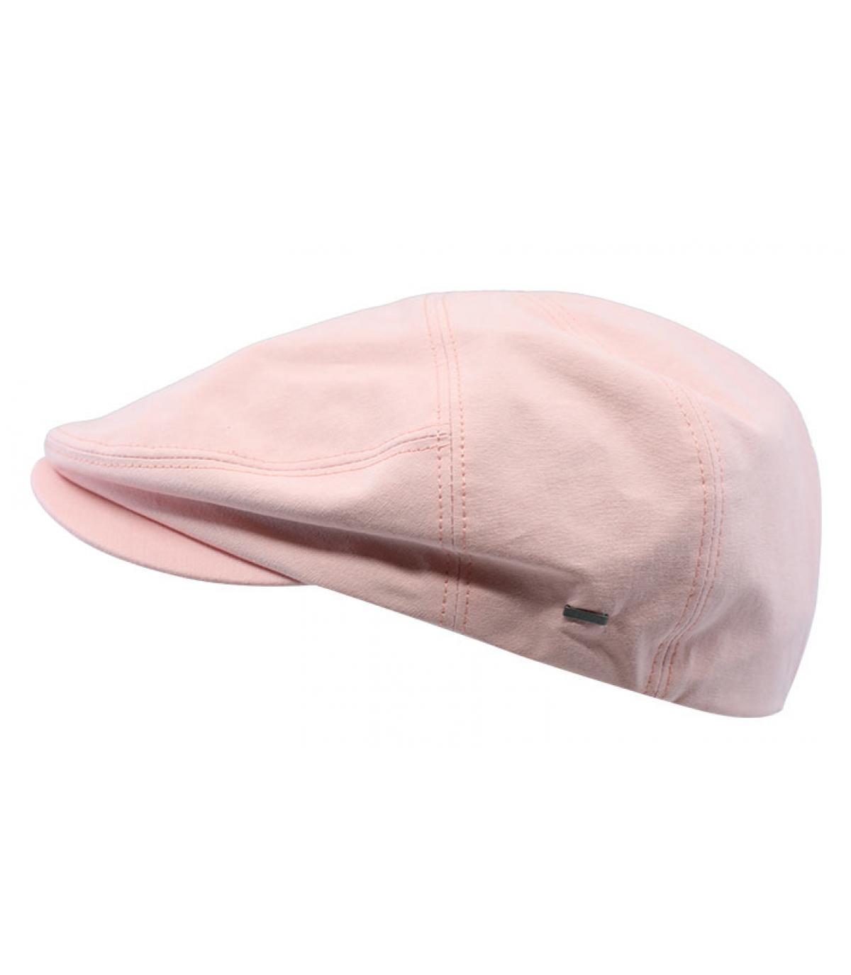 gorra rosa algodón