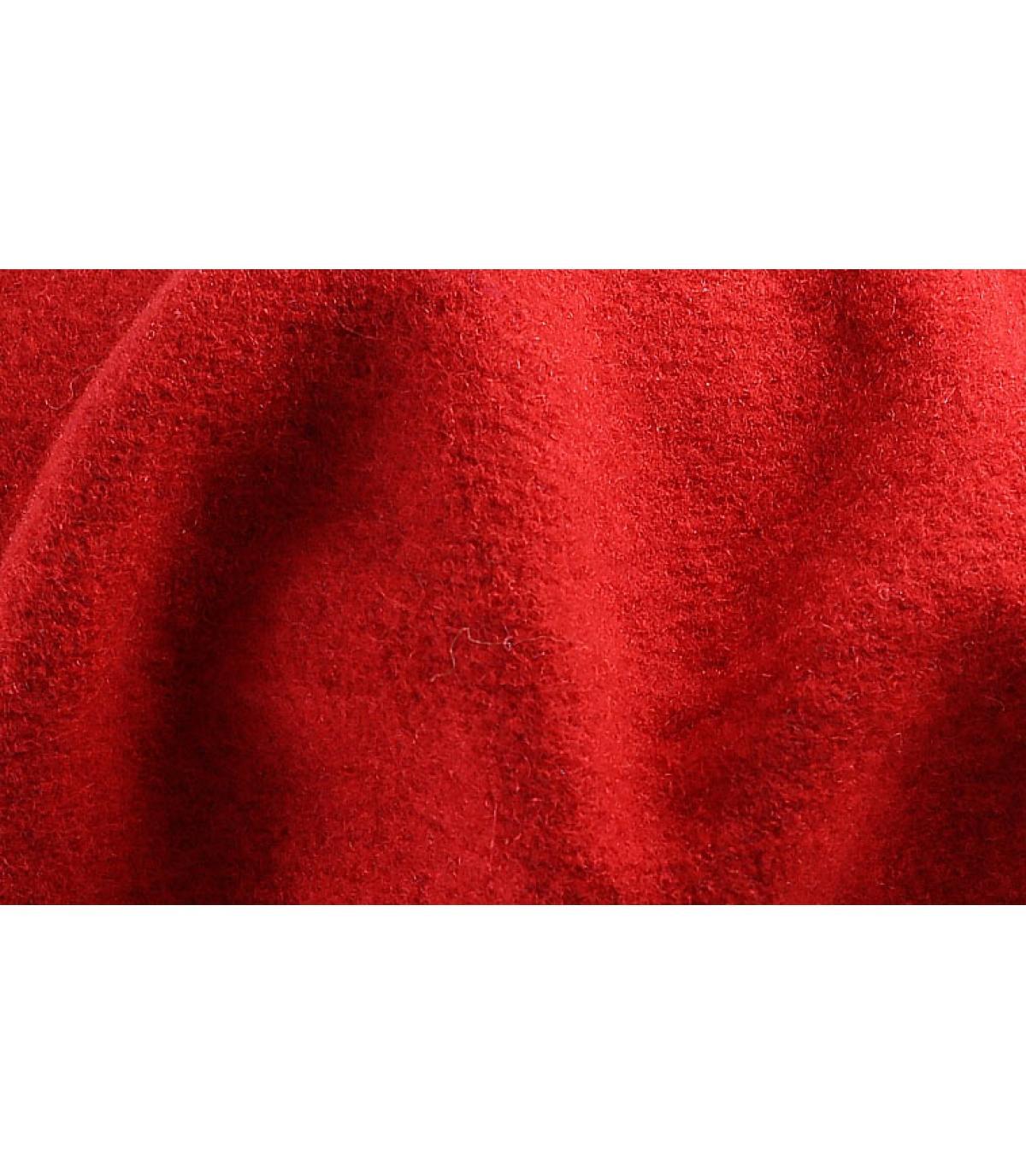 Detalles Red french beret imagen 3