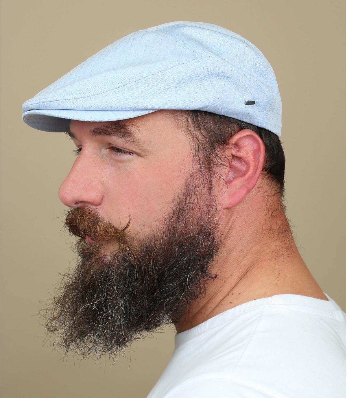 gorra gris algodón jacquard