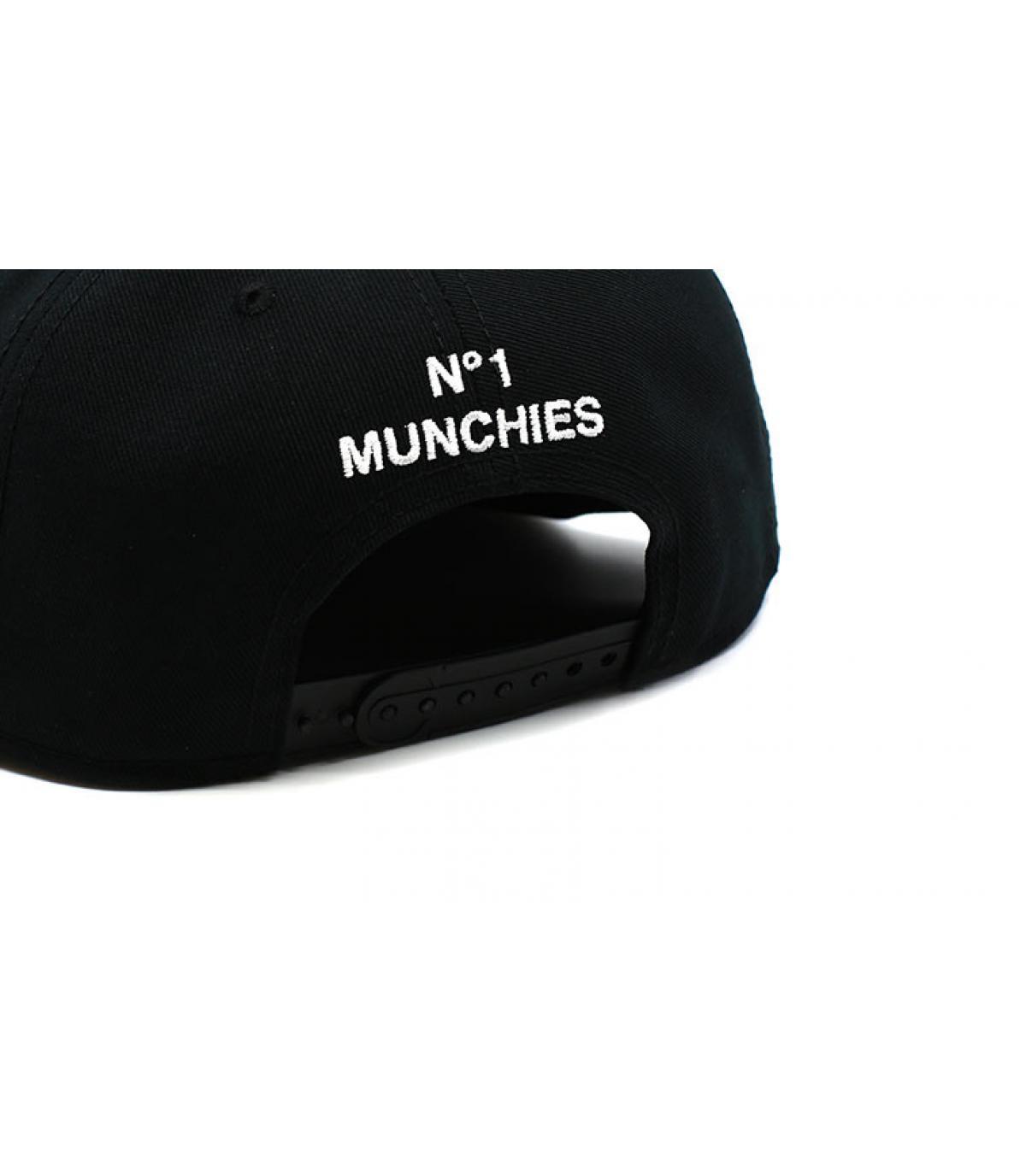 Detalles Munchel Snapback black imagen 4