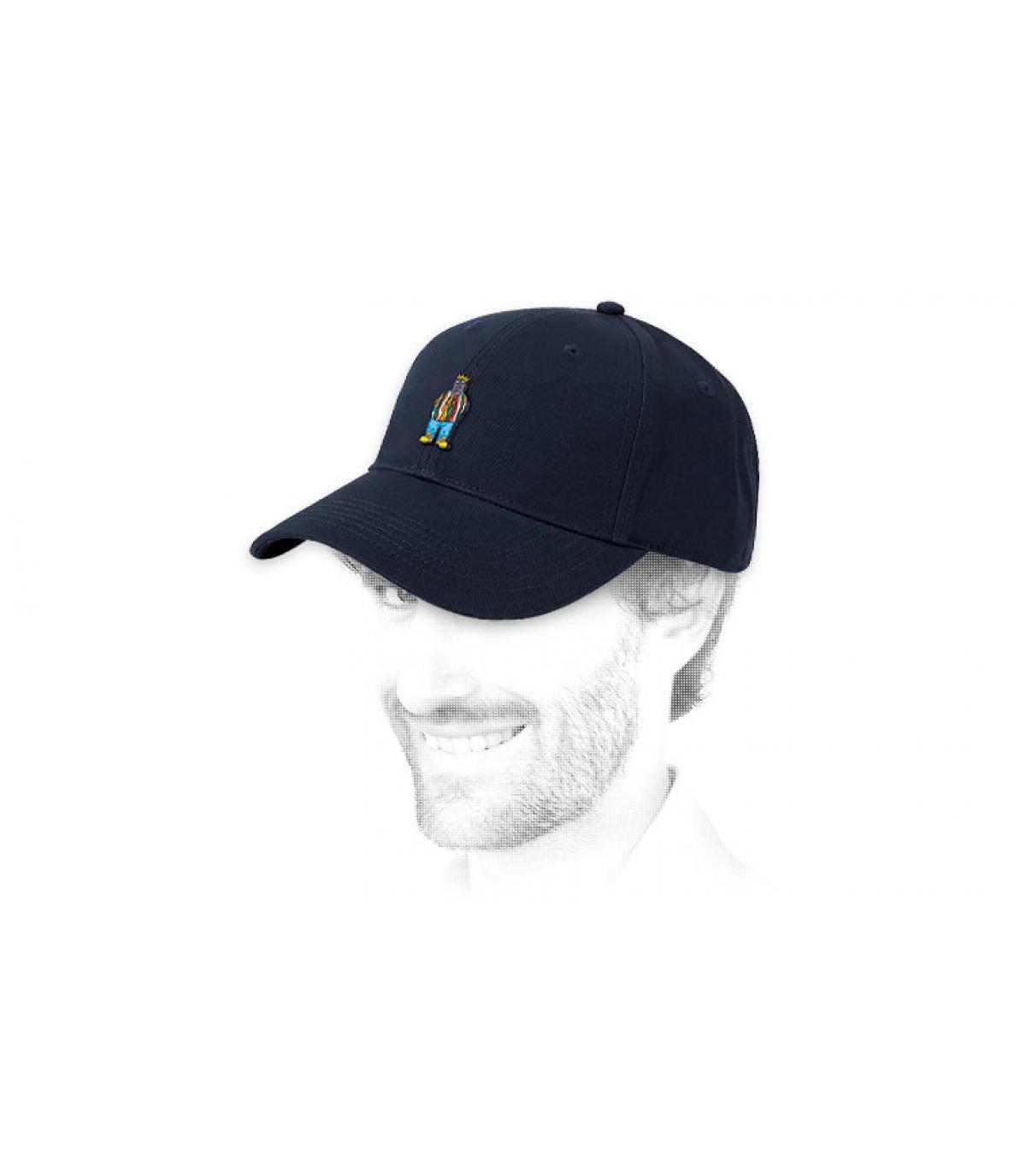 gorra Notorious azul