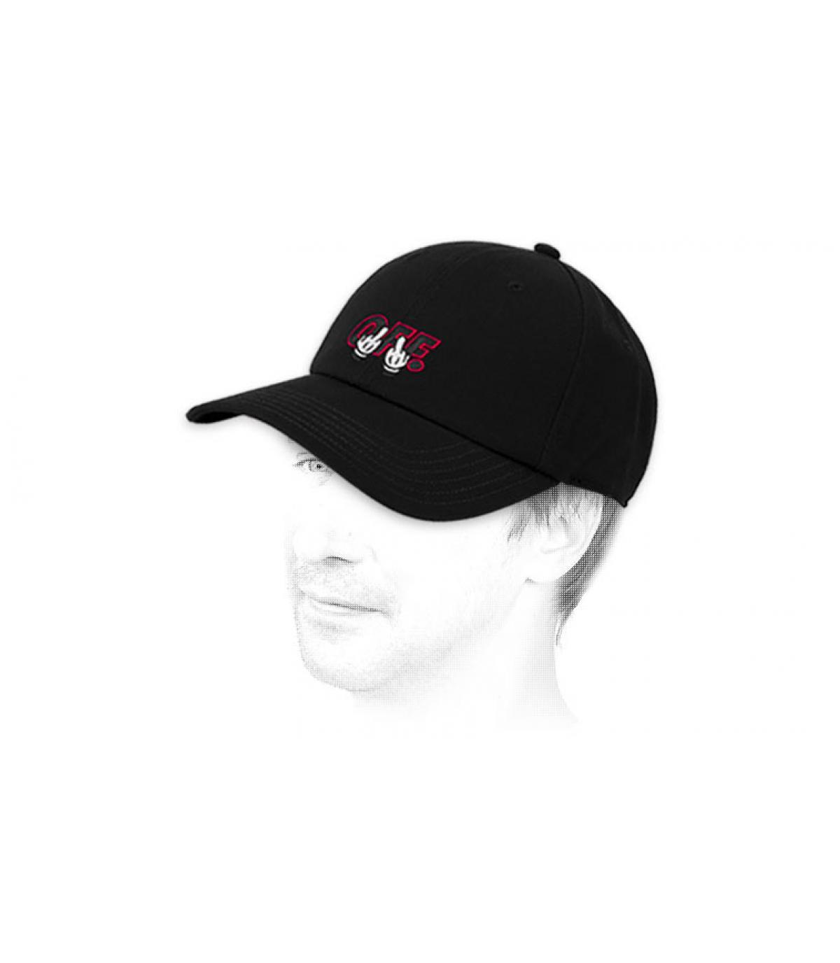 gorra negra F… OFF