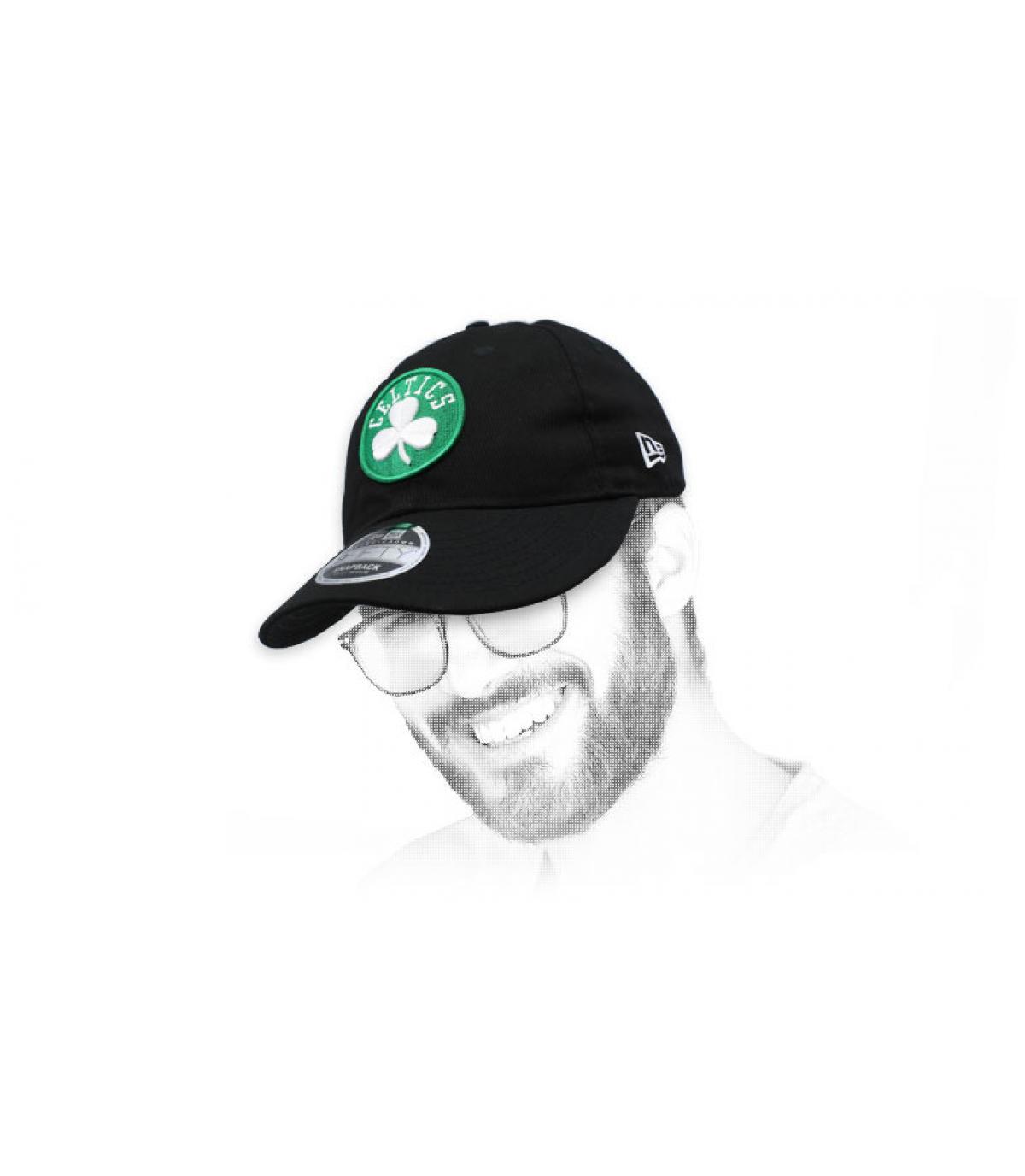 snapback Celtics negro vintage