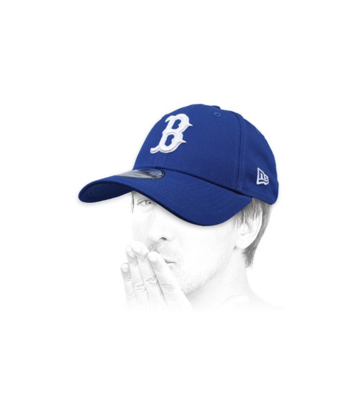 gorra B azul