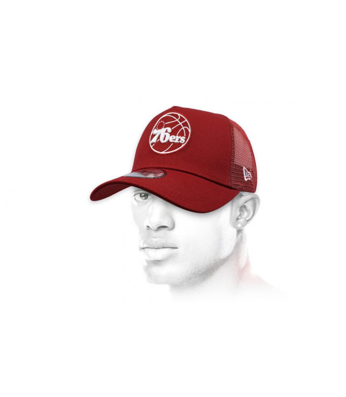 trucker rojo 76ers