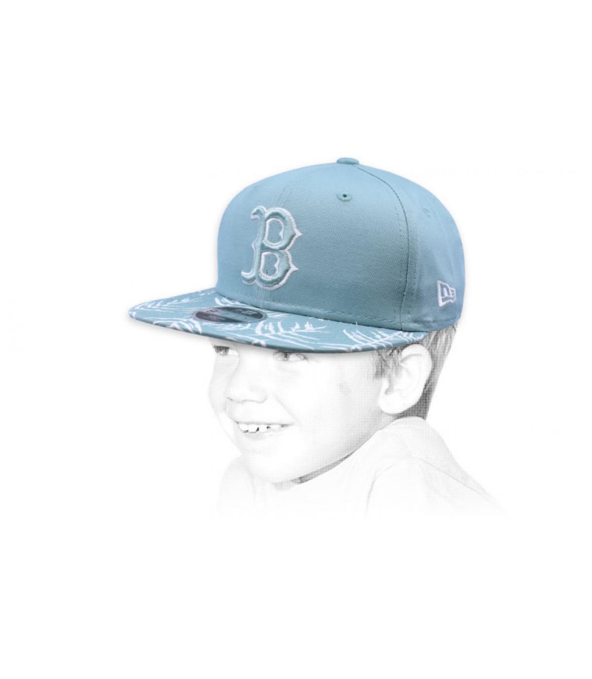snapback niño azul B