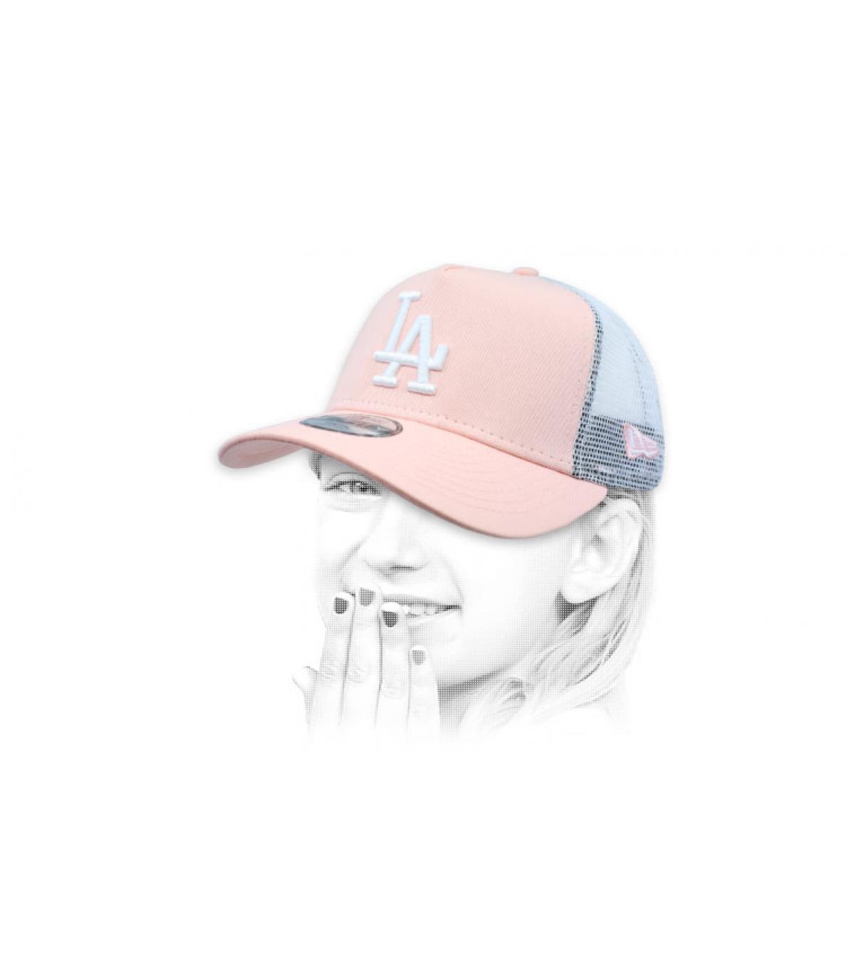 trucker LA rosa niño