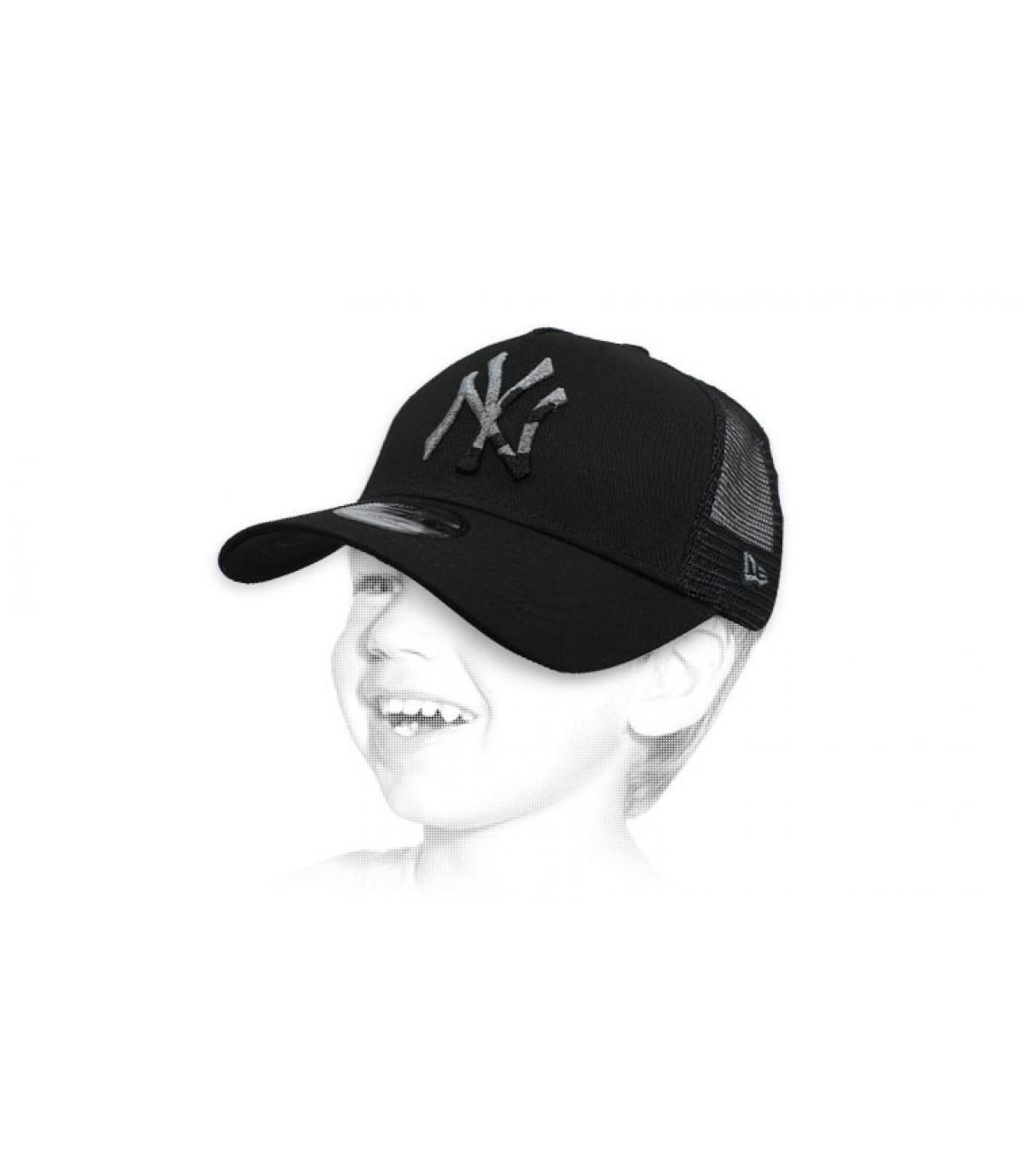 trucker NY niño negro