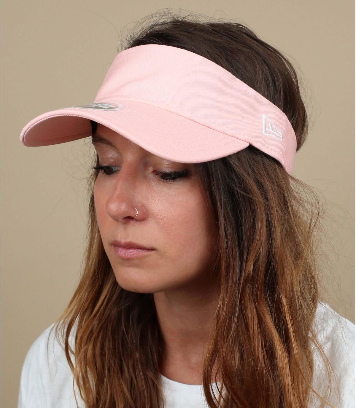 visera rosa mujer