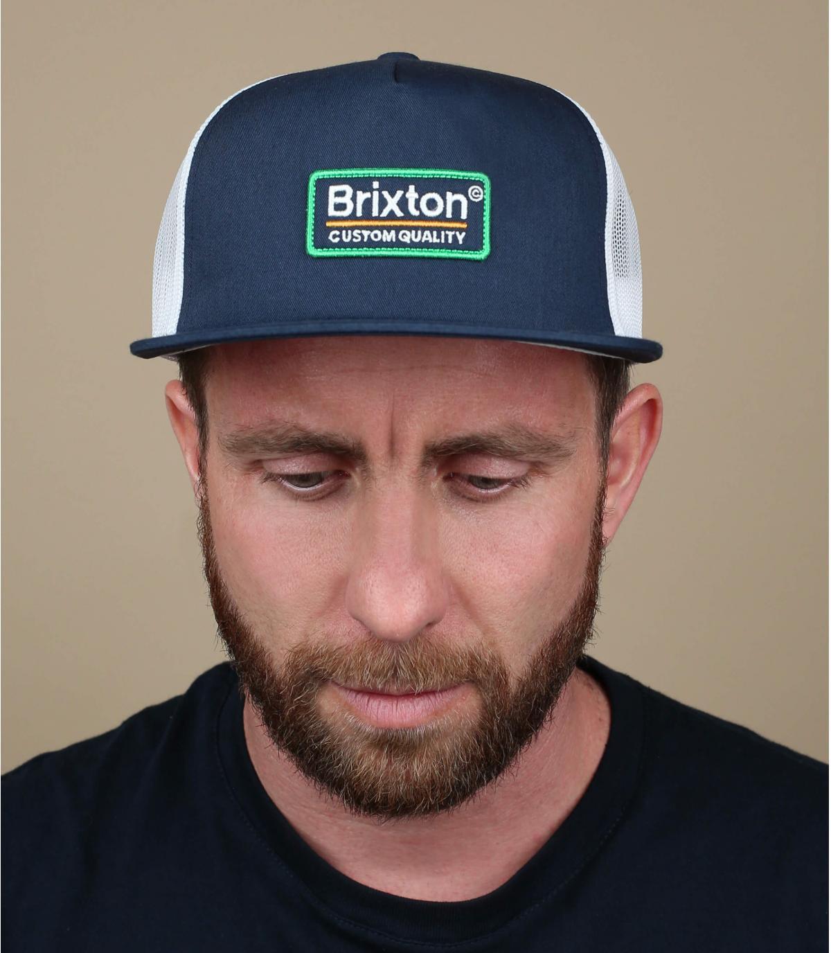 trucker azul marino Brixton