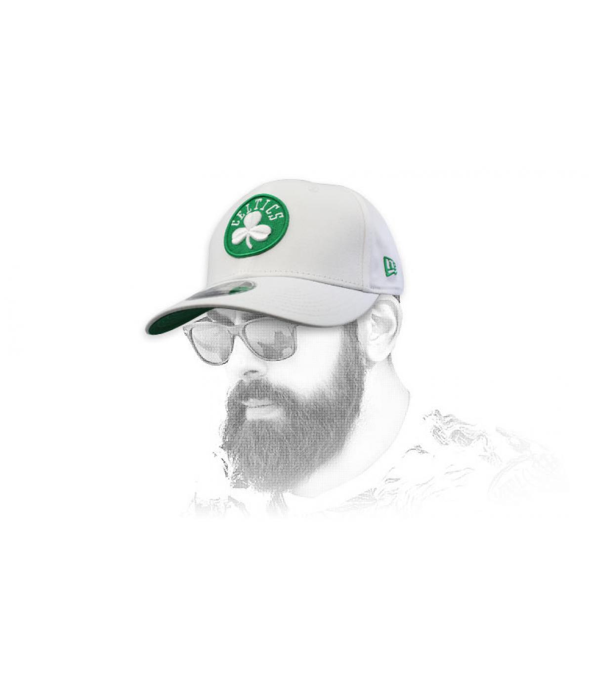 gorra Celtics blanco