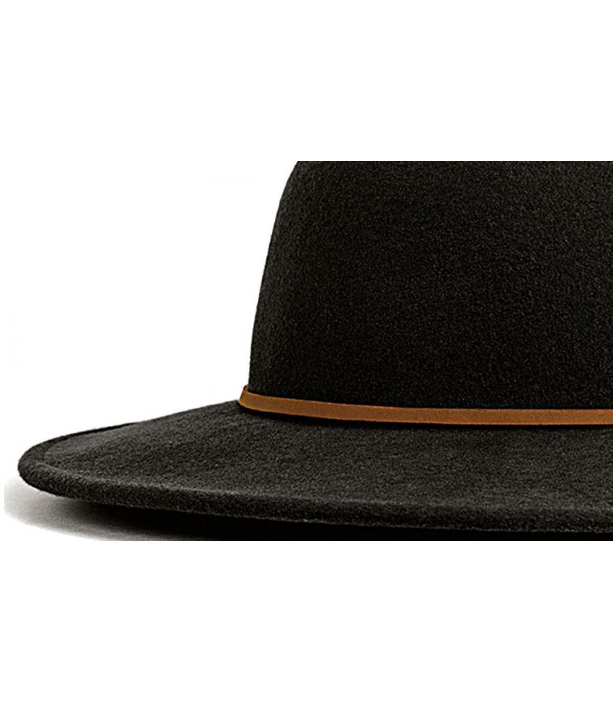 Sombrero hombre Brixton - Sombrero Tiller black de Brixton. Headict 5355d8fba7c