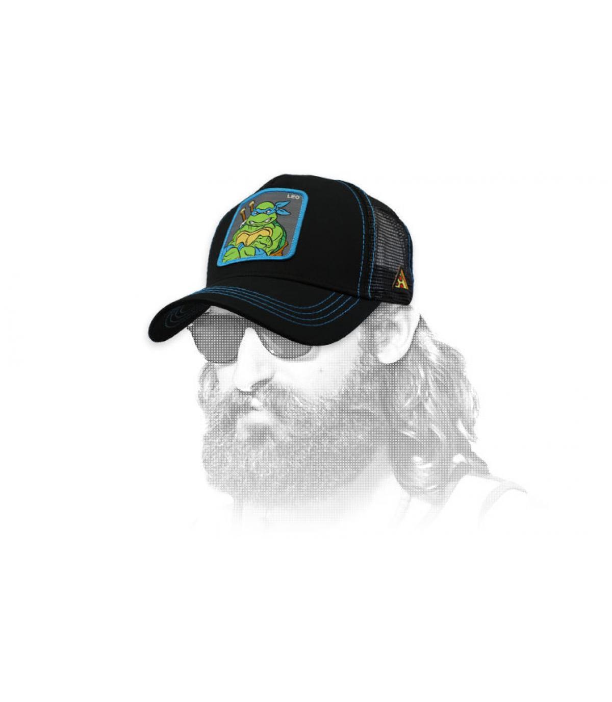 trucker Leonardo negro