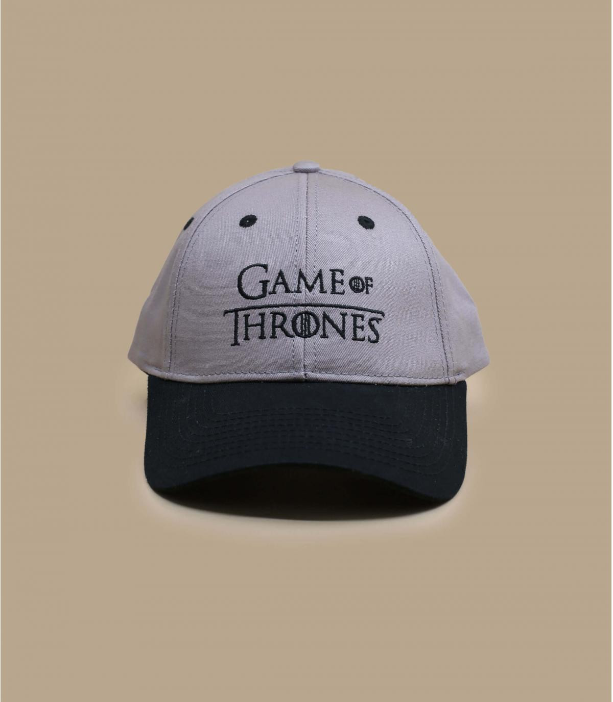 gorra Game of Throne gris