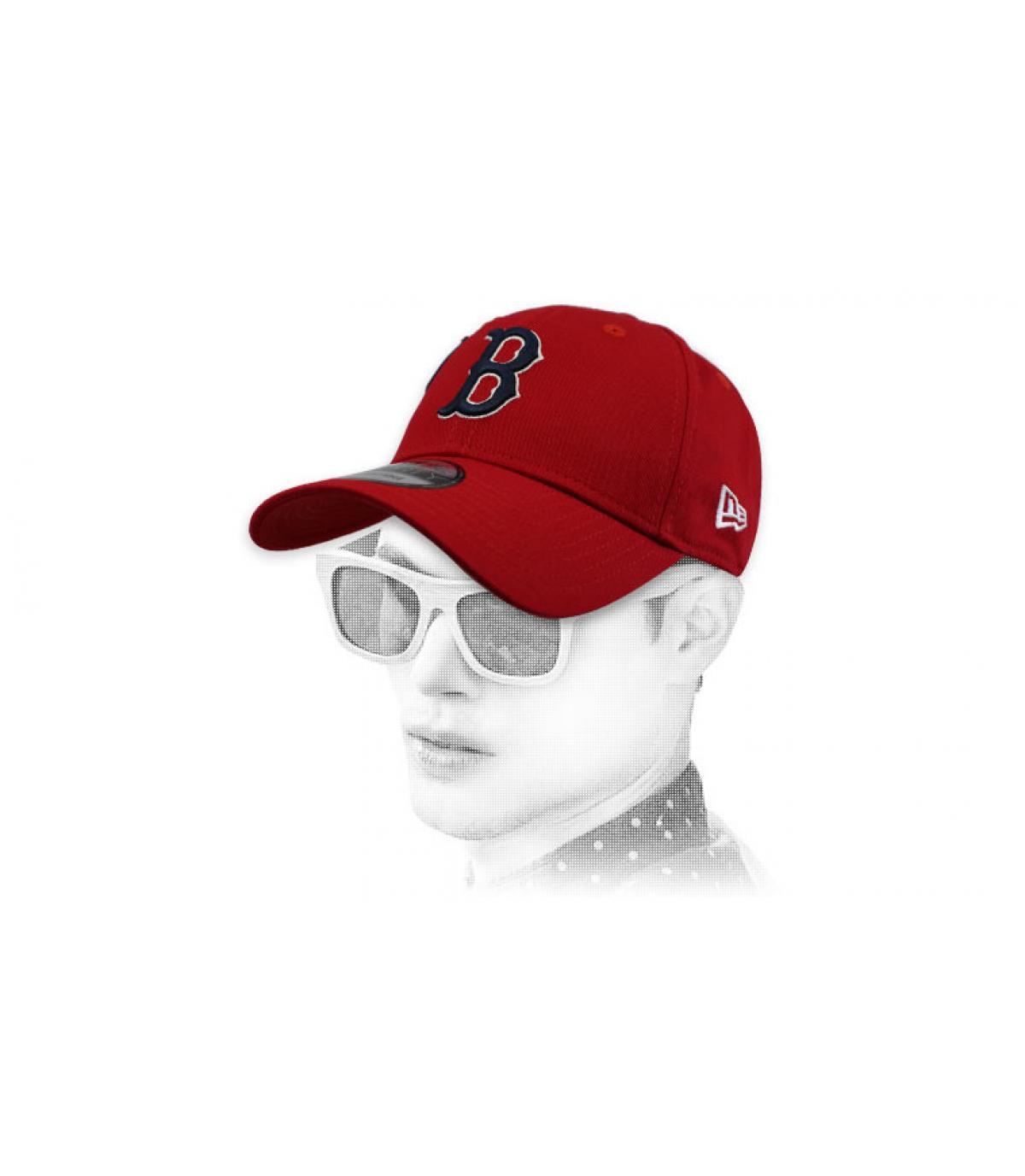gorra B rojo