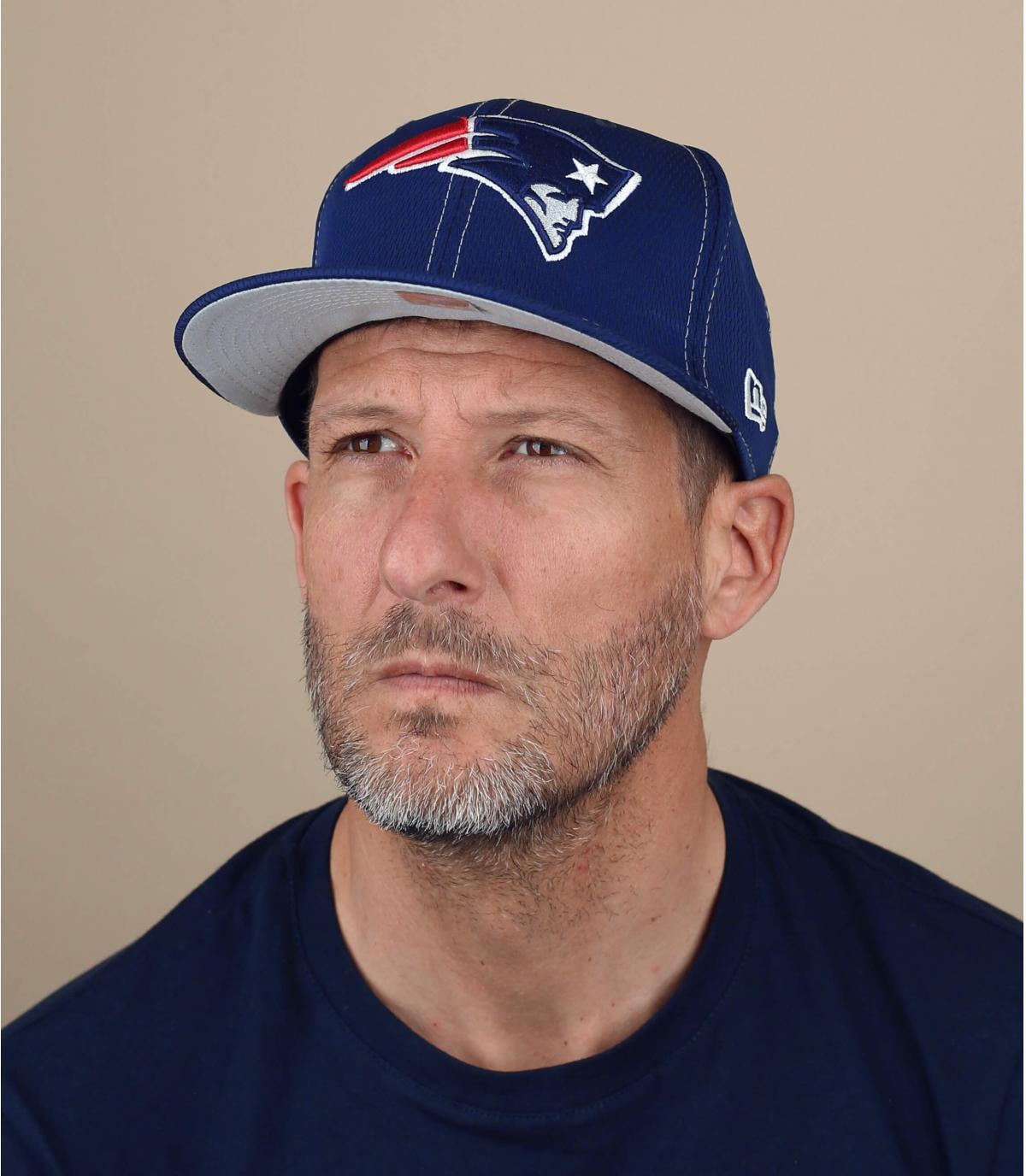 gorra Patriots azul