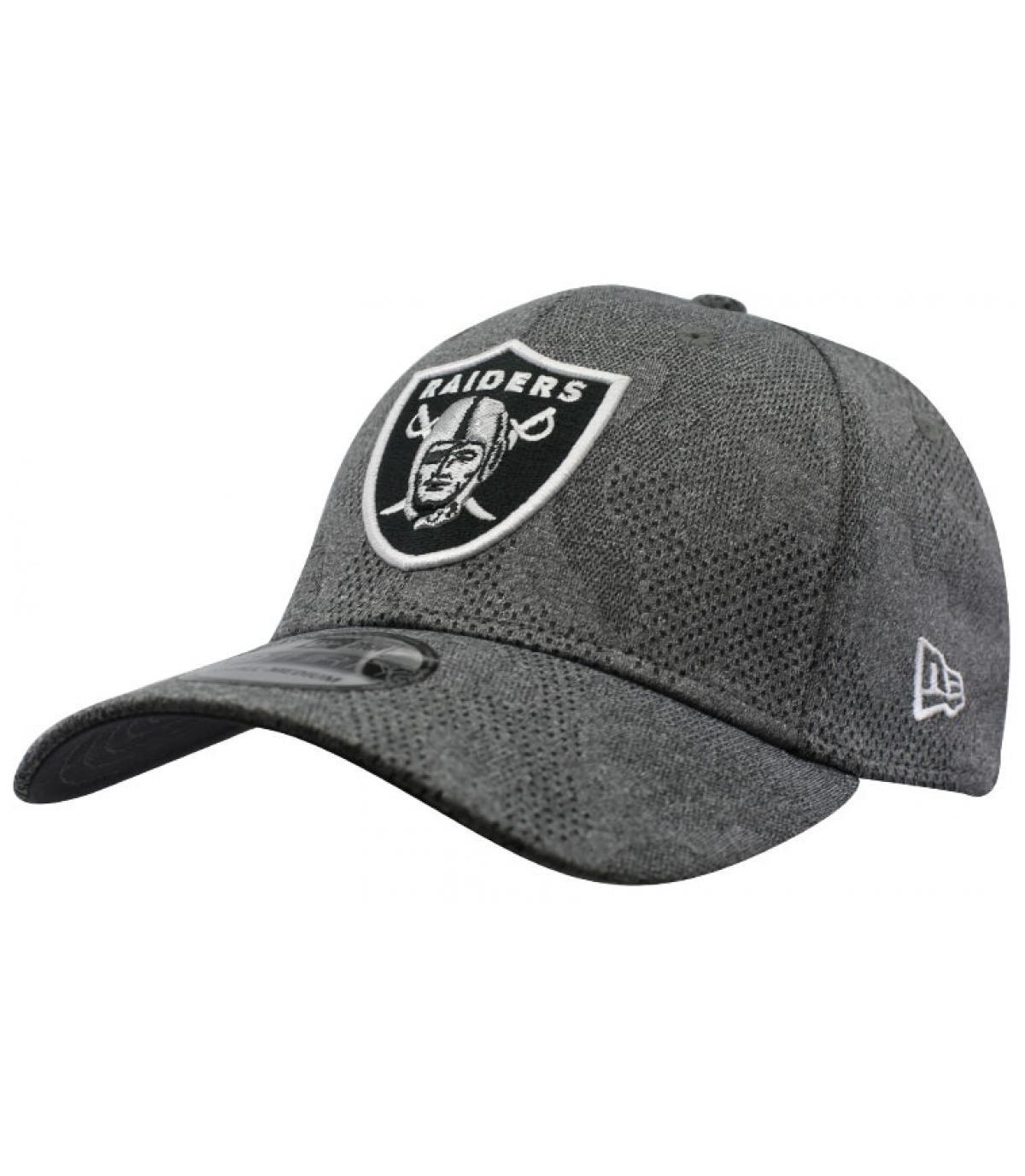 gorra Raiders gris negro