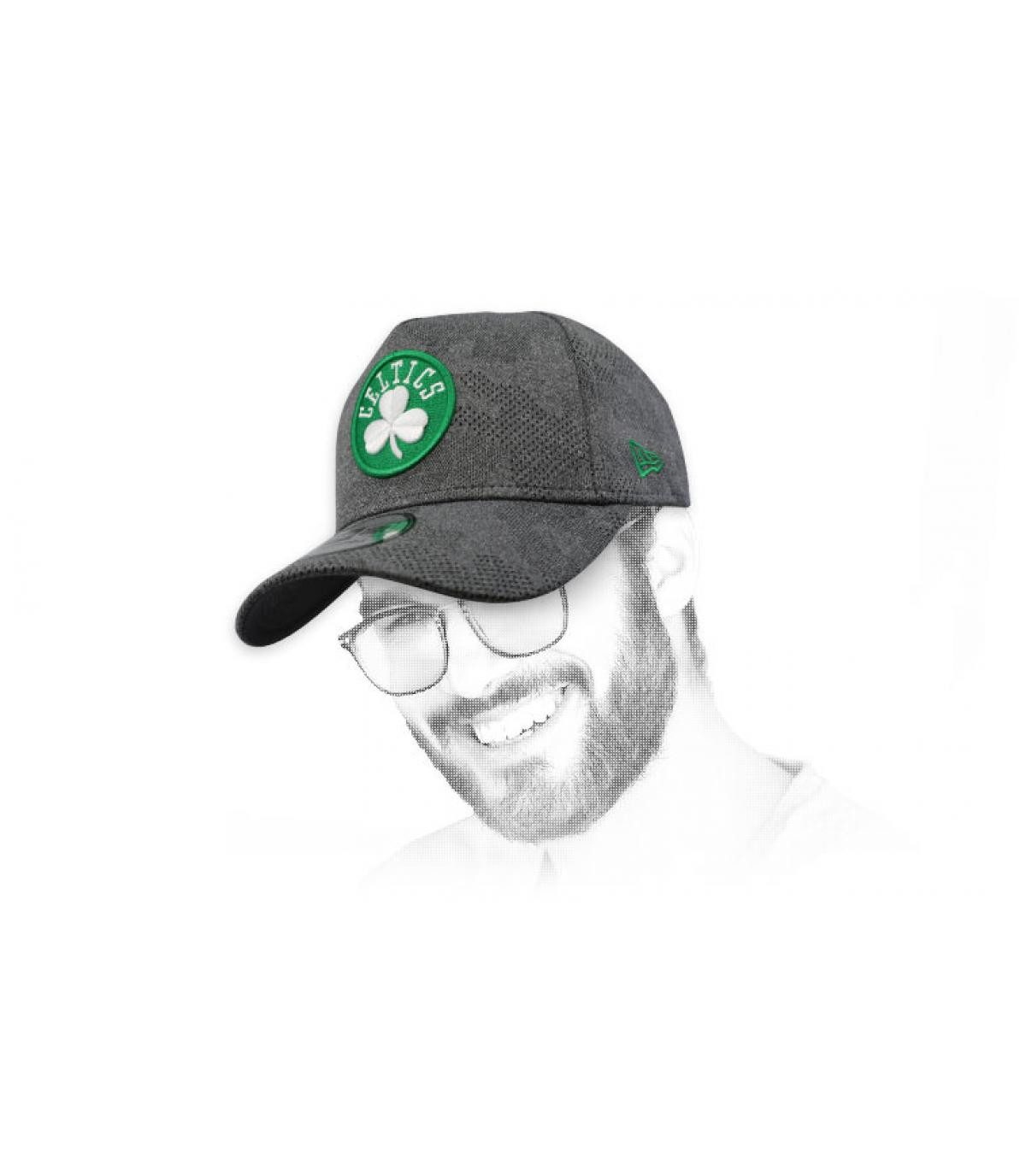 gorra Celtics gris