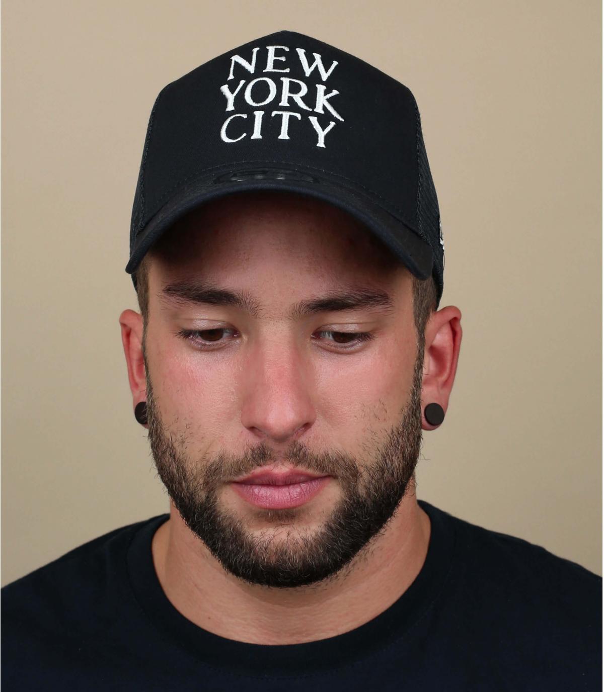 trucker New York negro
