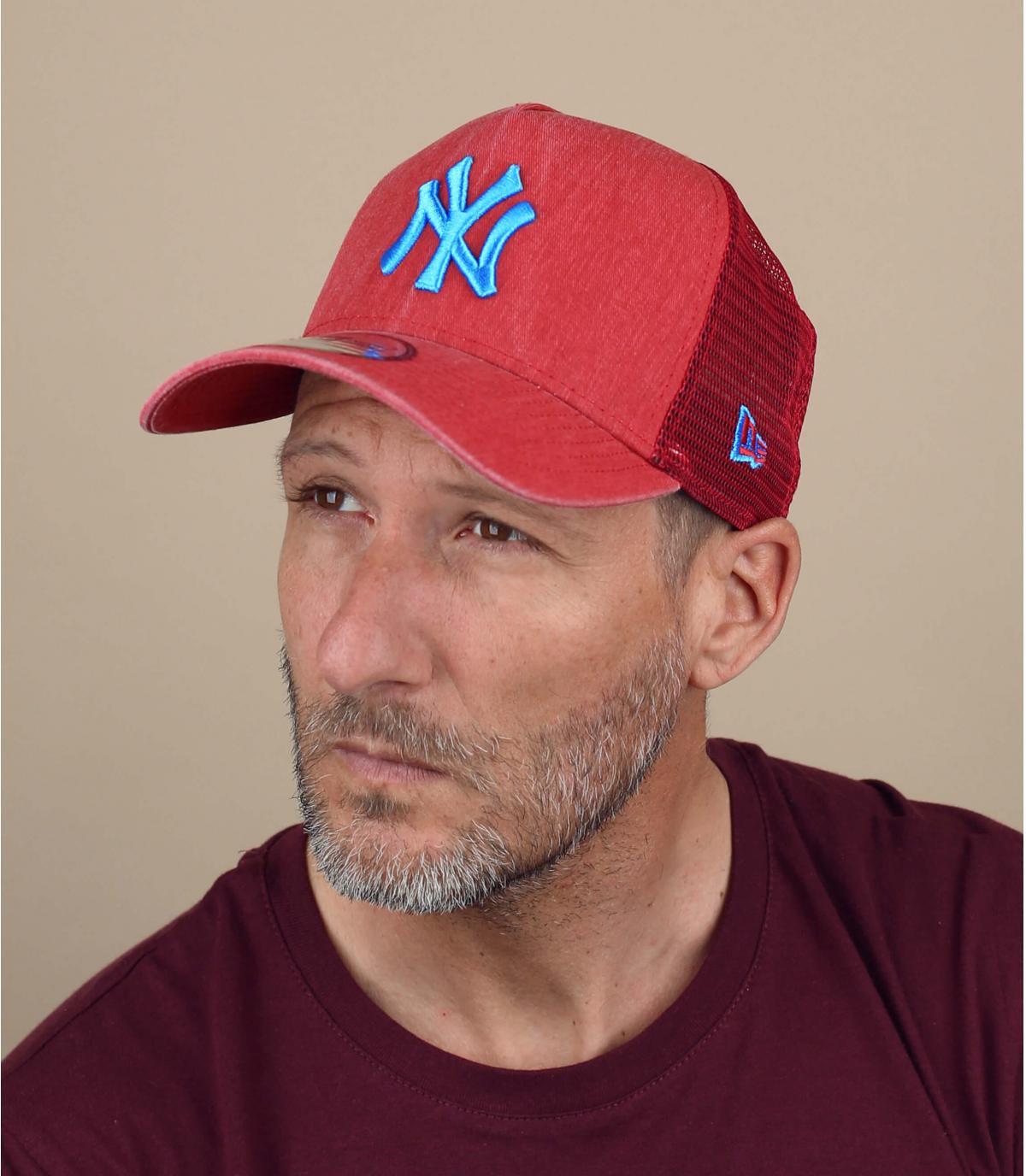 trucker NY rojo azul