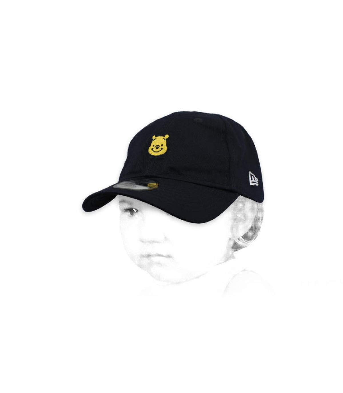gorra bebe Winnie negro