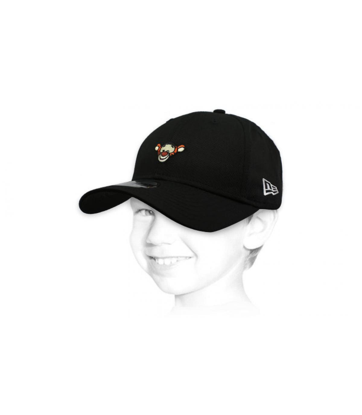 gorra niño Tigger negro