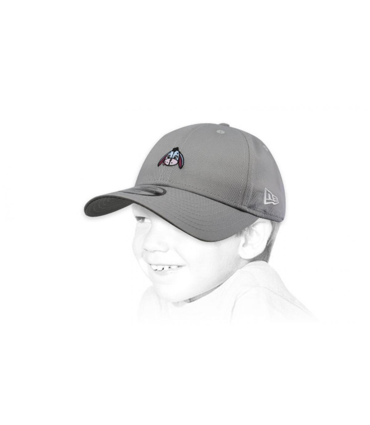 gorra niño Ígor gris