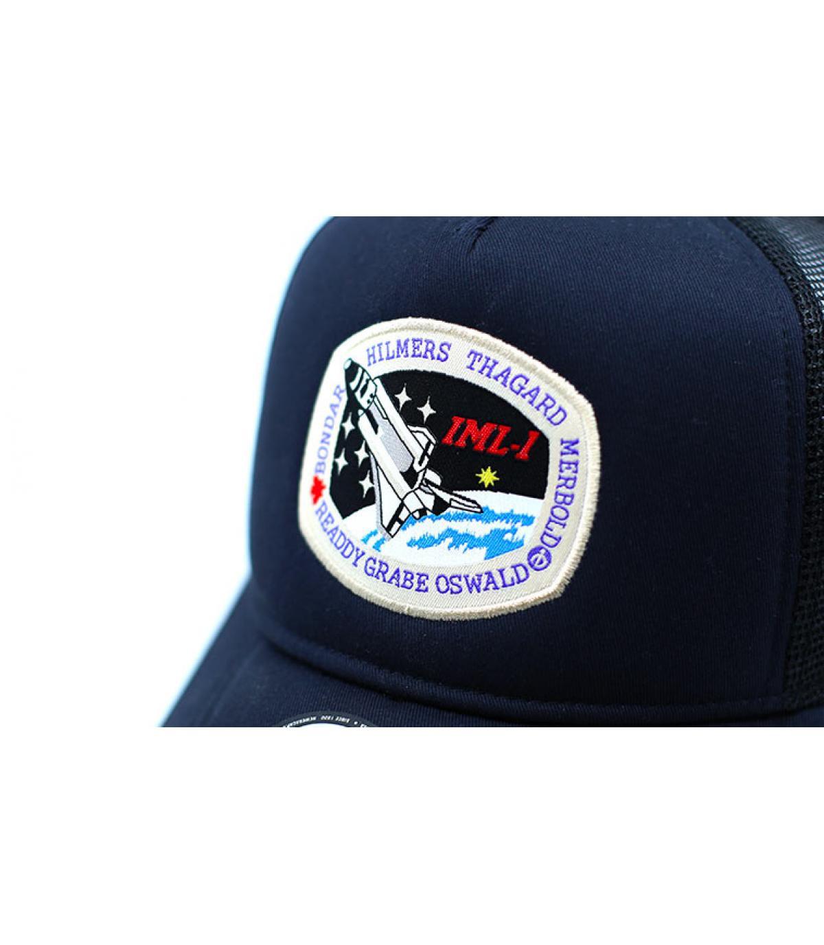 Detalles Trucker ISA navy imagen 3