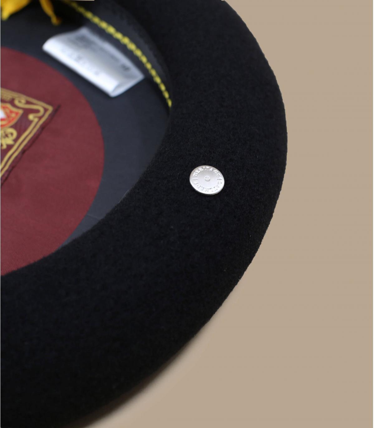boina lana negro