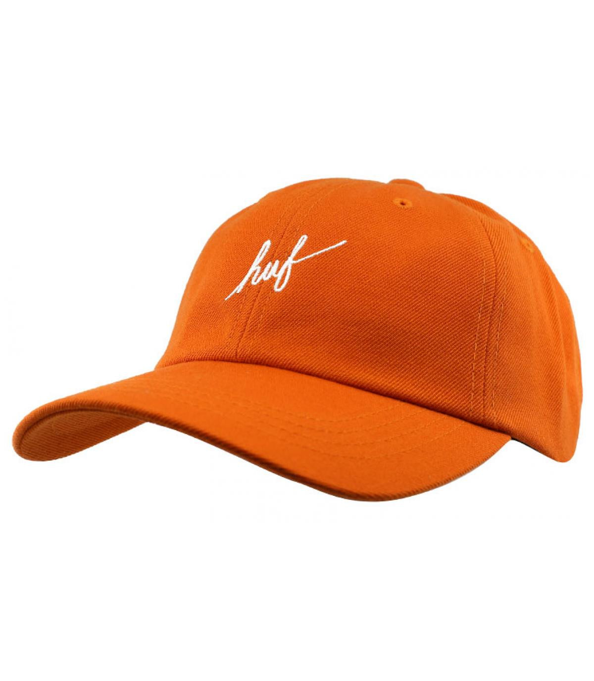gorra Huf naranja